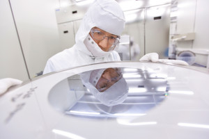 Glimpse into imec's 300 mm Cleanroom: The trend lies in development of wearable technologies.