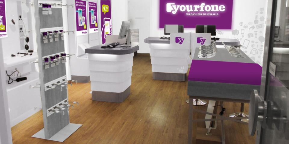 startschuss f r yourfone shops mit einstiegsangeboten. Black Bedroom Furniture Sets. Home Design Ideas