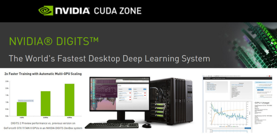 Deep Learning: Nvidia Digits 2 verdoppelt die Performance.