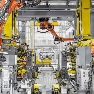 Digitale Fertigung in der Automobilindustrie