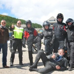 Motorradtour 2015: Wise Guys and Girls und der coole Hund