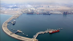 The new, 2004 built, Port of Sohar, north of the city — a 50/50 joint venture with the port of Rotterdam — opened the Sultanate of Oman to many new trading opportunities. On the premises, located next to the actual port and the refinery, are several power plants as well as a methane plant.