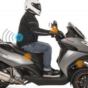 peugeot metropolis 400: dreirad-roller mit airbag-system
