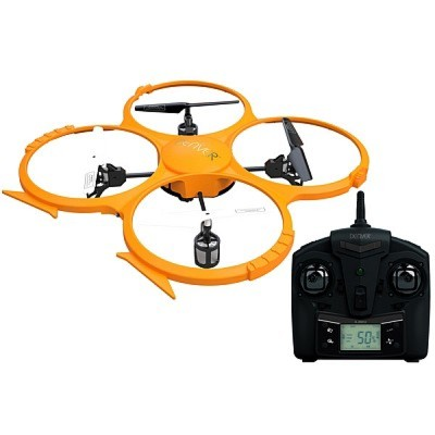 DENVER DCH-330: 2.4GHz drone with built-in HD camera gyro function for stability; 4 channel - 6