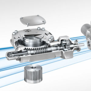 GS gearboxes are frequently combined with Auma actuators.