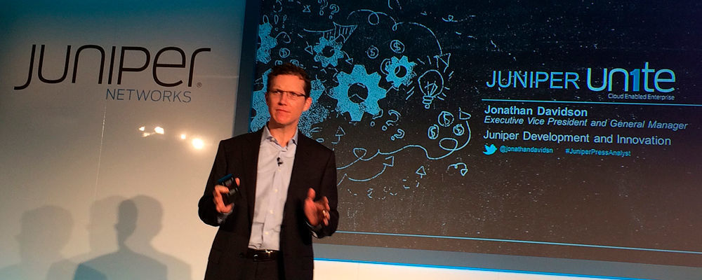 Jonathan Davidson, Executive Vice President und General Manager, Juniper Development und Innovation, Juniper Networks.