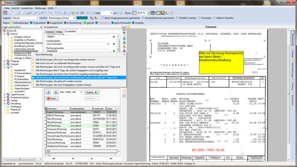 Bitfarm Archiv Dms Ist Ein Open Source Dokumentenmanagementsystem