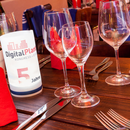 Unwind in the Evening at Digital Plant Kongress 2015