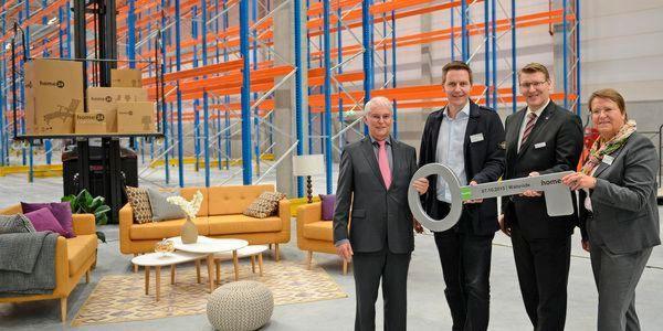 Home24 Eröffnet Europas Größtes Logistikzentrum