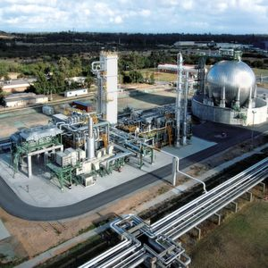 The reference for Star LNG down under: a gas liquefaction plant in Kwinana, Australia
