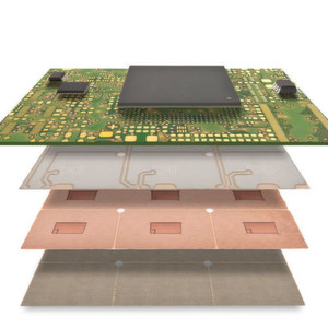 Embedded Power Devices und Logik in Hochstromleiterplatten