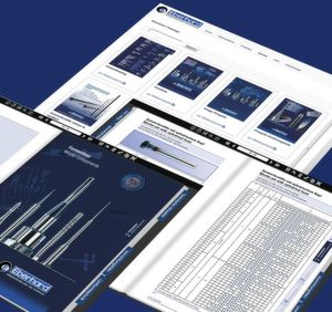 The new online catalogue from Eberhard with intelligent navigation functions is very user-friendly.
