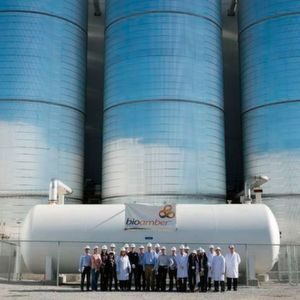 Bio Amber's new bio-succinic acid production plant