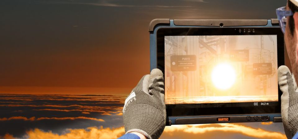 The tablet PC Agile X brings mobility into the field.