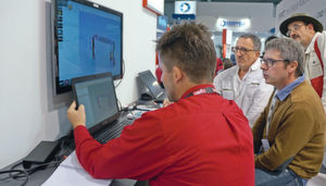 CAM software at the Metav: most providers have put the focus on shorter processing times.