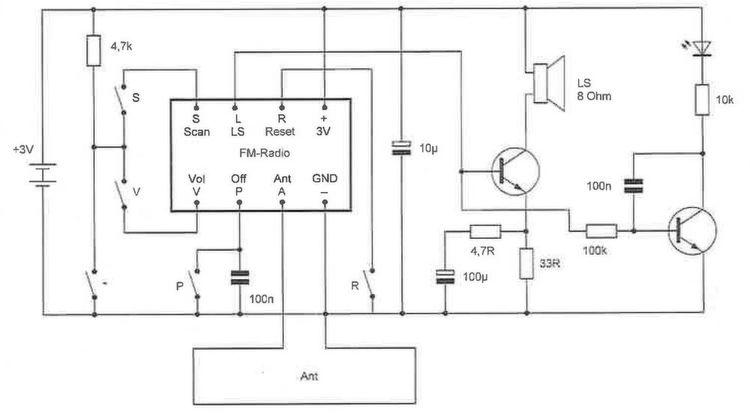 Bild 9: Der Schaltplan des UKW-Radios