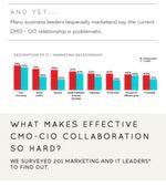 Allerdings hakt es nach wie vor bei der Zusammenarbeit von CMOs und CIOs. Rackspace versuchte der Sache auf den Grund zu gehen, indem 201 CMO und CIOs dazu befragt wurden.