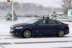Ford unterzog seinen autonomen Prototypen einem Härtetest.