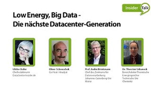 Forschung fürs Datacenter: Low Energy, Big Data