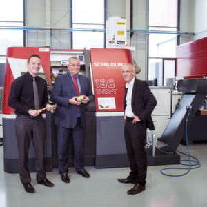 "Rolf Muster, CEO and Co-owner of Schaubline Machines SA: ""Everything that is produced here in Switzerland, is at top-quality level."""