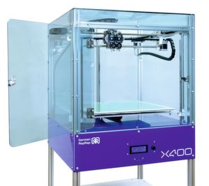 German Reprap has introduced version 3 of its industrial X400 printer.