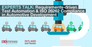 Kostenfreies Webinar: Requirements-driven Test Automation & ISO 26262 Compliance in Automotive Development