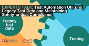 Kostenfreies Webinar: Test Automation Utilizing Legacy Test Data and Maintaining Safety-critical Compliance