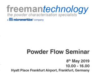 Powder Flow Seminar