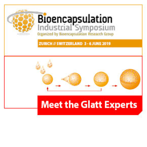 Meet the Glatt Experts @ 22nd Microencapsulation Industrial Convention