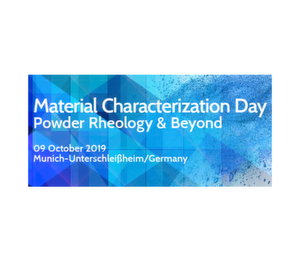 Material Characterization Day - Powder Rheology & Beyond