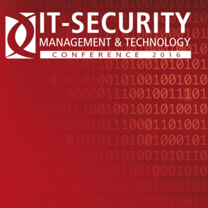 IT-SECURITY MANAGEMENT & TECHNOLOGY Conference 2016 – Neuss