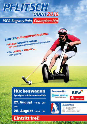 PFLITSCH open: Segway-Polo Turnier