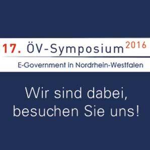 Ceyoniq beim 17. ÖV-Symposium: E-Government in Nordrhein-Westfalen