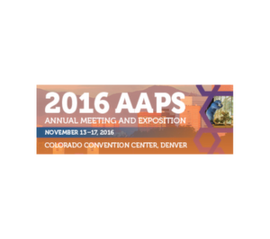 AAPS Annual Meeting - see us on booth 517